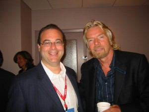 Peter Winick and Richard Branson Enlightening Chat with Peter Winick